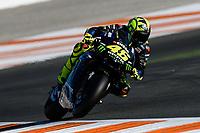 16th November 2019; Circuit Ricardo Tormo, Valencia, Spain; Valencia MotoGP, Qualifying Day; Valentino Rossi (Monster Yamaha)   - Editorial Use