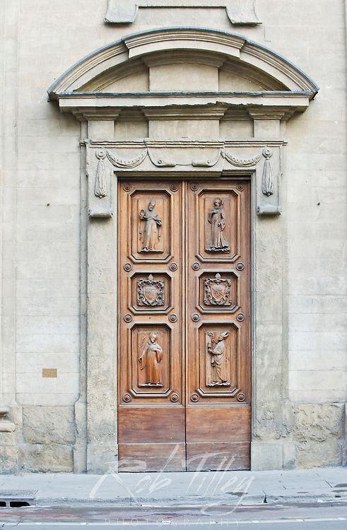 Europe, Italy, Tuscany, Florence, Doorway
