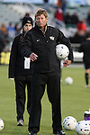 11 December 2009: Wake Forest head coach Jay Vidovich. The University of Virginia Cavaliers defeated the Wake Forest University Demon Deacons 2-1 after overtime at WakeMed Soccer Stadium in Cary, North Carolina in an NCAA Division I Men's College Cup Semifinal game.