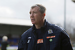 Jim Gannon Manger of Stockport County. Stockport County v Barnet, 07032020. Edgeley Park, National League. Photo by Paul Thompson.