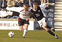 19/03/2005         Copyright Pic : James Stewart.File Name : jspa18_raith_v_falkirk.CRAIG MCPHERSON AND PAT CLARKE CHALLENGE FOR THE BALL...Payments to :.James Stewart Photo Agency 19 Carronlea Drive, Falkirk. FK2 8DN      Vat Reg No. 607 6932 25.Office     : +44 (0)1324 570906     .Mobile   : +44 (0)7721 416997.Fax         : +44 (0)1324 570906.E-mail  :  jim@jspa.co.uk.If you require further information then contact Jim Stewart on any of the numbers above.........A
