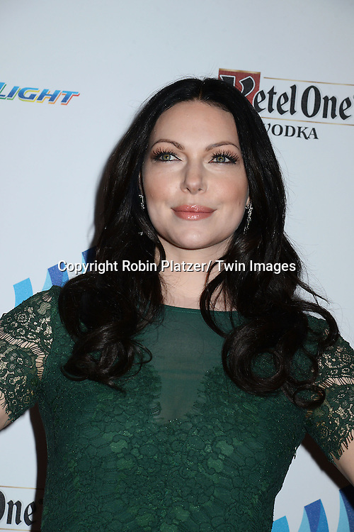 Laura Prepon attends the 25th Annual GLAAD Media Awards at the Waldorf Astoria Hotel in New York City, NY on May 3, 2014.
