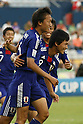 (L-R) Muroya Sei, Takumi Minamino (JPN), JUNE 29, 2011 - Football : Takumi Minamino of Japan celebrates his goal during the 2011 FIFA U-17 World Cup Mexico Round of 16 match between Japan 6-0 New Zealand at Estadio Universitario in Monterrey, Mexico. (Photo by MEXSPORT/AFLO)