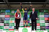 Picture by Simon Wilkinson/SWpix.com - 08/09/2017 - Cycling - OVO Energy Tour of Britain - Stage 6 Newmarket to Aldeburgh<br /> Finish at Aldeburgh - Orica Scott's Caleb Ewan takes the victory in Stage 6 of the Tour of Britain.