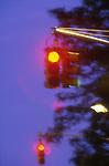 Red traffic lights