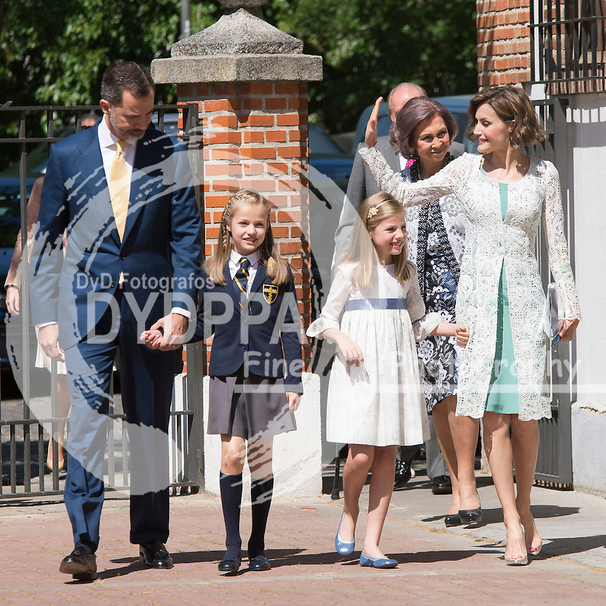 Princess Leonor of Spain First Communion