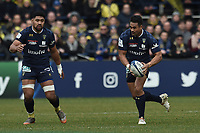 11th January 2020, Parc des Sports Marcel Michelin, Clermont-Ferrand, Auvergne-Rhône-Alpes, France; European Champions Cup Rugby Union, ASM Clermont versus Ulster;  Iasia Toeava (asm)  starts an open field run
