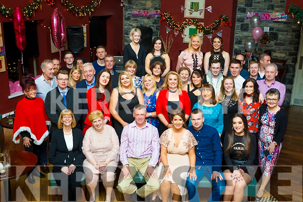 Toni Tuite, of Tralee seated 4th from the left, celebraing her birthday with her family and friend at O'Donnells bar on Saturday night last.