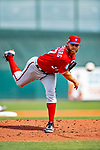 1 March 2019: Washington Nationals pitcher Stephen Strasburg on the mound during Spring Training play against the Miami Marlins at Roger Dean Stadium in Jupiter, Florida. The Nationals defeated the Marlins 5-4 in Grapefruit League play. Mandatory Credit: Ed Wolfstein Photo *** RAW (NEF) Image File Available ***