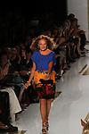 Designer Diane von Furstenberg at Diane von Furstenberg Spring 2014 Fashion Show Held at Mercedes Benz Fashion Week NY