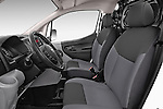Front seat view of a 2015 Nissan NV200 Visia 5 Door Cargo Van front seat car photos