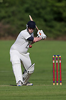 M Pegram of Gidea Park during Hutton CC vs Gidea Park and Romford CC, Shepherd Neame Essex League Cricket at the Polo Field on 11th May 2019