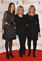 Amanda Berry, Joanna Lumley and Jane Lush at the EE British Academy Film Awards (BAFTAs) Nominations Announcement, BAFTA, Piccadilly, London, England, UK, on Tuesday 09 January 2018.<br /> CAP/CAN<br /> &copy;CAN/Capital Pictures