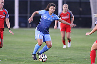 Piscataway, NJ - Saturday June 3, 2017: Raquel Rodriguez during a regular season National Women's Soccer League (NWSL) match between Sky Blue FC and the Portland Thorns at Yurcak Field.  Portland defeated Sky Blue, 2-0.