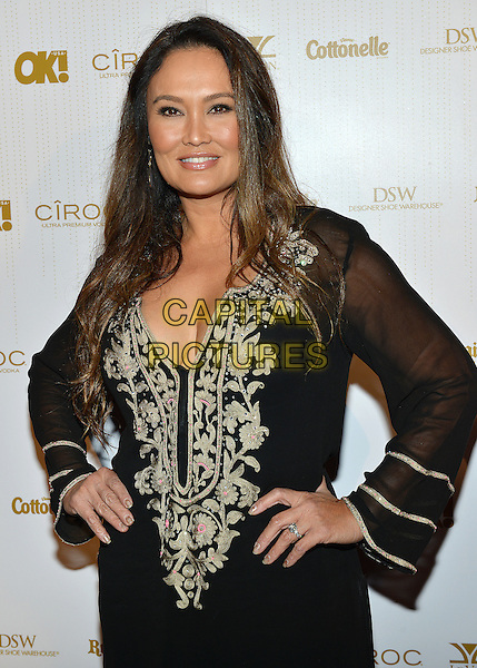 27 February 2014 - West Hollywood, California - Tia Carrere. OK! Magazine Pre-Oscar Party held at Greystone Manor Supperclub. Photo Credit: Christine Chew/AdMedia<br /> CAP/ADM/CC<br /> &copy;Christine Chew/AdMedia/Capital Pictures