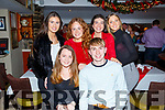 Lucy O&rsquo;Sullivan from the Spa celebrating her birthday in the Brogue Inn on Saturday night. <br /> Seated l-r, Lucy O&rsquo;Sullivan and Padraig Linnane.<br /> Back l-r, Caoimhe Ni Loingseach, Deirdre O&rsquo;Halloran, Katie Crowe and Kate Doyle.
