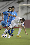 Al-Sadd vs Dempo during the 2011 AFC Champions League Play Off match on February 19, 2011 at the Tahnoun bin Mohammed Stadium in Al Ain, United Arab Emirates. Photo by World Sport Group