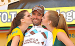 Christophe Riblon (FRA) AG2R La Mondiale competes during the second stage of 206.5 km of the cycling Road race 'Tour de Pologne' at Passo Pordoi, on July 28, 2013.  <br />