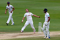 Neil Wagner in bowling action for Essex during Essex CCC vs Warwickshire CCC, Specsavers County Championship Division 1 Cricket at The Cloudfm County Ground on 22nd June 2017