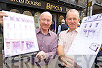 Johhny and Paddy Maguire, Bricin, Killarney, pictured as they launched their 2013 calendar on Wednesday.........................