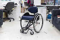 Reagiro &ndash; Reto Togni, 2017<br /> Reagiro is the world's first manual everyday wheelchair with an actual steering system. A user can control the movement of the chair through upper body movement rather than breaking and pushing.