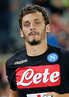 Manolo Gabbiadini during the friendly soccer match,between SSC Napoli and Onc Nice      at  the San  Paolo   stadium in Naples  Italy , August 01, 2016<br />  during the friendly soccer match,between SSC Napoli and Onc Nice      at  the San  Paolo   stadium in Naples  Italy , August 02, 2016
