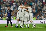 Real Madrid's players during La Liga match. September 01, 2018. (ALTERPHOTOS/A. Perez Meca)