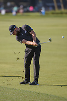 Tyrrell Hatton (ENG) hits his approach shot on 1 during round 3 of the Arnold Palmer Invitational at Bay Hill Golf Club, Bay Hill, Florida. 3/9/2019.<br /> Picture: Golffile | Ken Murray<br /> <br /> <br /> All photo usage must carry mandatory copyright credit (&copy; Golffile | Ken Murray)