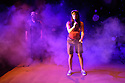 Edinburgh, UK. 29.07.2017. Superbolt Theatre presents MARS ACTUALLY, at Assembly Roxy, as part of Edinburgh Festival Fringe 2017. Superbolt Theatre's Artistic Directors and Performers are: Maria Askew, Frode Gjerlow and Simon Maeder. Directed by Tid, with lighting design, and stage management, by Ina Berggren. Photograph © Jane Hobson.