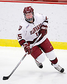 Katharine Chute (Harvard - 15) - The Harvard University Crimson defeated the Boston College Eagles 5-0 in their Beanpot semi-final game on Tuesday, February 2, 2010 at the Bright Hockey Center in Cambridge, Massachusetts.