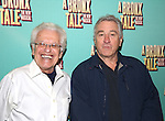 """Jerry Zaks and Robert De Niro during the photocell for """"A Bronx Tale - The New Musical""""  at the New 42nd Street Studios on October 21, 2016 in New York City."""