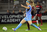 Boyds, MD - Friday Sept. 30, 2016: Julie Johnston during a National Women's Soccer League (NWSL) semi-finals match between the Washington Spirit and the Chicago Red Stars at Maureen Hendricks Field, Maryland SoccerPlex. The Washington Spirit won 2-1 in overtime.