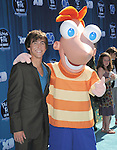 Vincent Martella  at The Disney Premiere of Phineas and Ferb: Across the 2nd Dimension held at The El Capitan Theatre in Hollywood, California on August 03,2011                                                                               © 2011 DVS / Hollywood Press Agency
