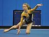 Bethpage gymnastics at Long Beach High School Monday, January 4, 2016. Amanda Ferraro - Floor