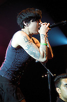 Canadian Juno Award-winning singer/songwriter Bif Naked headlines CFOX Radio's 30th Annual SEEDS contest finale, Thursday, Aug. 27, 2009, at the Commodore Balroom in Vancouver. (Scott Alexander/pressphotointl.com)