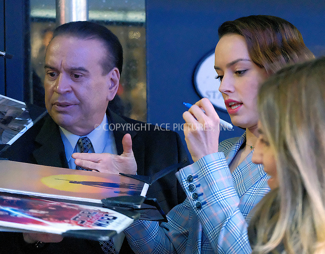 www.acepixs.com<br /> <br /> November 28 2017, New York City<br /> <br /> Actress Daisy Ridley arrived at a TV show on November 28 2017 in New York City.<br /> <br /> By Line: Curtis Means/ACE Pictures<br /> <br /> <br /> ACE Pictures Inc<br /> Tel: 6467670430<br /> Email: info@acepixs.com<br /> www.acepixs.com