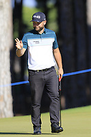 Andy Sullivan (ENG) putts on the 9th green during Saturday's Round 3 of the 2018 Turkish Airlines Open hosted by Regnum Carya Golf &amp; Spa Resort, Antalya, Turkey. 3rd November 2018.<br /> Picture: Eoin Clarke | Golffile<br /> <br /> <br /> All photos usage must carry mandatory copyright credit (&copy; Golffile | Eoin Clarke)