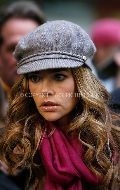 WWW.ACEPIXS.COM . . . . .  ....October 17 2011, New York City....Actress Denise Richards on the set of the TV show '30 Rock' at the Rockefeller Center on October 17, 2011 in New York City.....Please byline: CURTIS MEANS - ACE PICTURES.... *** ***..Ace Pictures, Inc:  ..Philip Vaughan (212) 243-8787 or (646) 679 0430..e-mail: info@acepixs.com..web: http://www.acepixs.com