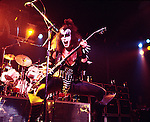 Kiss 1976 Gene Simmons..© Chris Walter..