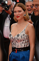 "CANNES, FRANCE. May 22, 2019: Lea Seydoux at the gala premiere for ""Oh Mercy!"" at the Festival de Cannes.<br /> Picture: Paul Smith / Featureflash"