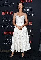 09 April 2018 - Hollywood, California - Taylor Russell. NETFLIX's &quot;Lost in Space&quot; Season 1 Premiere Event held at Arclight Hollywood Cinerama Dome. <br /> CAP/ADM/BT<br /> &copy;BT/ADM/Capital Pictures