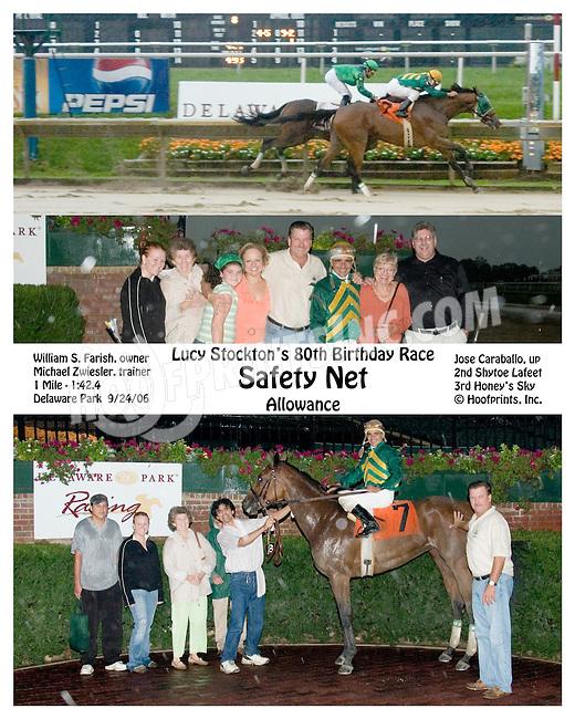 winning at Delaware Park on 9/24/2006