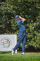 Matt Fitzpatrick (ENG) watches his tee shot on 2 during round 3 of the World Golf Championships, Mexico, Club De Golf Chapultepec, Mexico City, Mexico. 3/3/2018.<br /> Picture: Golffile | Ken Murray<br /> <br /> <br /> All photo usage must carry mandatory copyright credit (&copy; Golffile | Ken Murray)