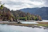 USA, Alaska, Homer, China Poot Bay, Kachemak Bay, view of the scenery surrounding Kachemak Bay Wilderness Lodge
