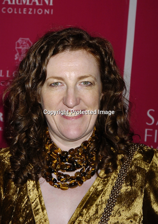 Glenda Bailey ..at the launch of  Wild About Cashmere Party at Saks Fifth Avenue benefitting The Central Park Conservancy  on September 20, 2005...Photo by Robin Platzer, Twin Images