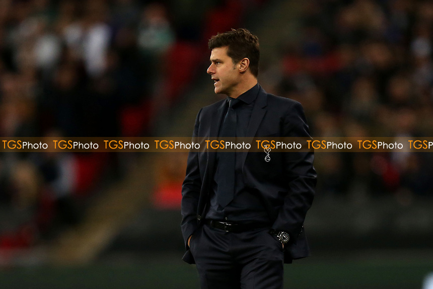 Tottenham Hotspur manager Mauricio Pochettino during Tottenham Hotspur vs PSV Eindhoven, UEFA Champions League Football at Wembley Stadium on 6th November 2018