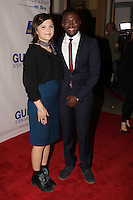 Clemence Dufresne-Desliere and Irdens Exandus  attend the Montreal red Carpet premier of '' Guibord s'en va-t-en guerre<br /> '' latest film by Philippe Falardeau at the Imperial cinema, Monday september 28, 2015,<br /> <br /> Photo :  Pierre Roussel  - Agence Quebec Presse