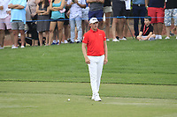 Matt Wallace (ENG) on the 18th fairway during the 3rd round of the DP World Tour Championship, Jumeirah Golf Estates, Dubai, United Arab Emirates. 17/11/2018<br /> Picture: Golffile | Fran Caffrey<br /> <br /> <br /> All photo usage must carry mandatory copyright credit (&copy; Golffile | Fran Caffrey)