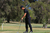 Thorbjorn Olesen (DEN) in action on the 1st during Round 2 Matchplay of the ISPS Handa World Super 6 Perth at Lake Karrinyup Country Club on the Sunday 11th February 2018.<br /> Picture:  Thos Caffrey / www.golffile.ie<br /> <br /> All photo usage must carry mandatory copyright credit (&copy; Golffile   Thos Caffrey)