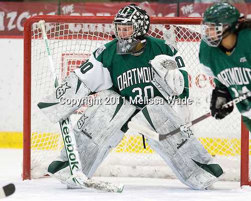 Lindsay Holdcroft (Dartmouth - 30) - The visiting Dartmouth College Big Green defeated the Harvard University Crimson 3-2 on Wednesday, November 23, 2011, at Bright Hockey Center in Cambridge, Massachusetts.